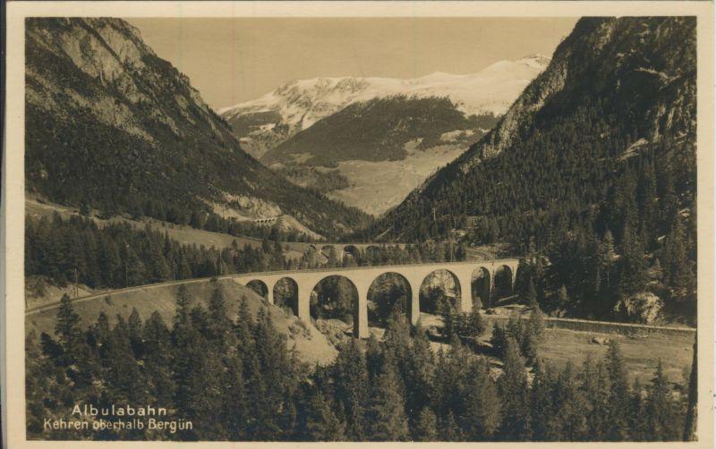 Bergün v. 1934 Albulabahn (AK1180)