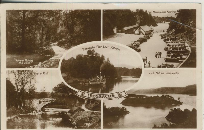 Trossachs v. 1929 5 Ansichten (AK1182)