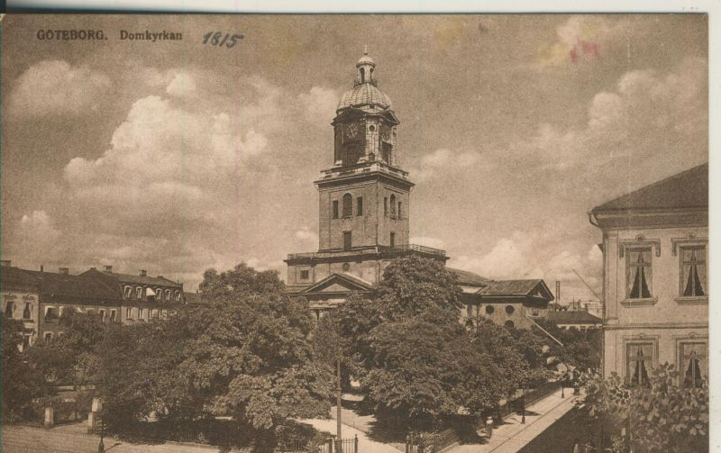 Götebourg v. 1915 Domkyrkan (AK1184)
