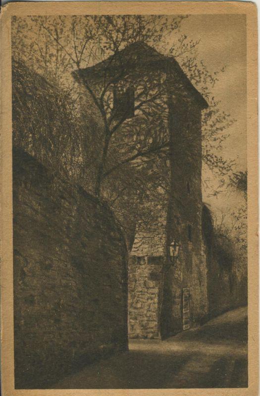 Naumburg v. 1924 Alter Wachturm an der Stadtmauer (AK1187)