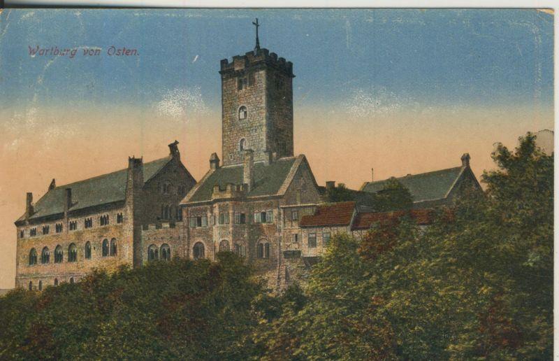 Eisenach v. 1921 Die Wartburg von Osten (AK1189)