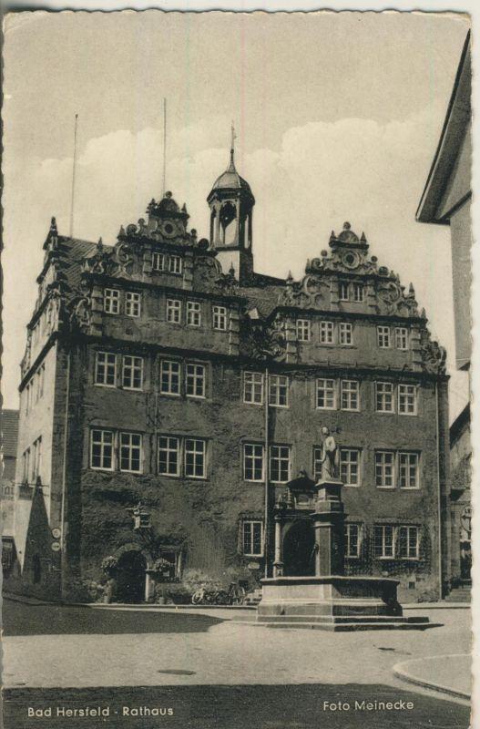 Bad Hersfeld v. 1959 Das Rathaus (AK1198)