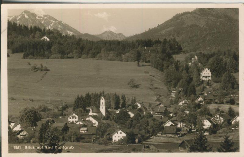 Bad Kohlgrub v. 1955 Dorfansicht (AK1199)