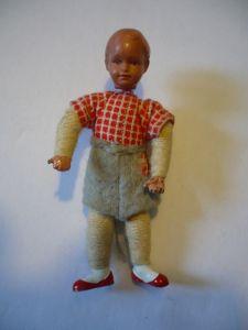 Puppenstuben Biege-Puppe - bayrischer Bub (628)