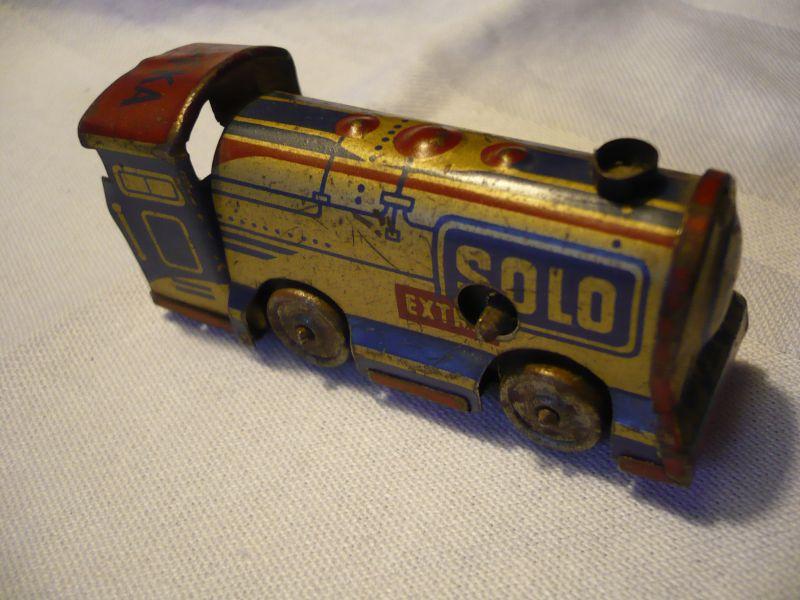 Blechspielzeug - Lokomotive - Schlüsselwerk (635)