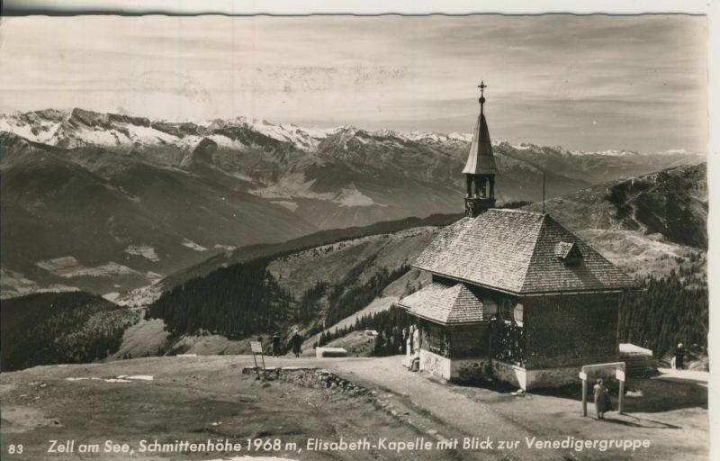 Zell am See v. 1961 Die Elisabeth Kapelle (AK1237)