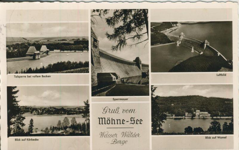 Möhne See v. 1963 5 Ansichten (AK1239)
