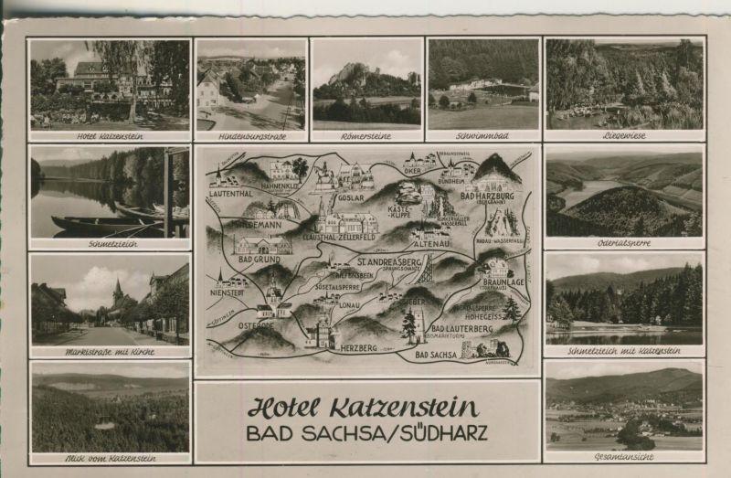 Bad Sachsa v. 1954 12 Ansichten (AK1242)
