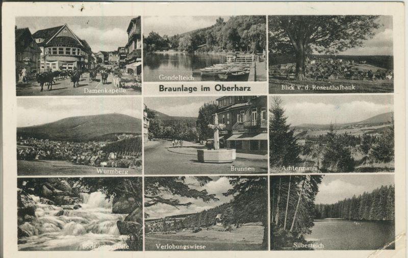 Braunlage v. 1957 9 Ansichten (AK1243)