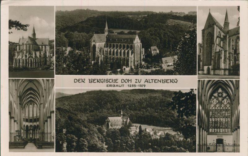 Altenberg v. 1960 5 Ansichten vom Dom (AK1250)