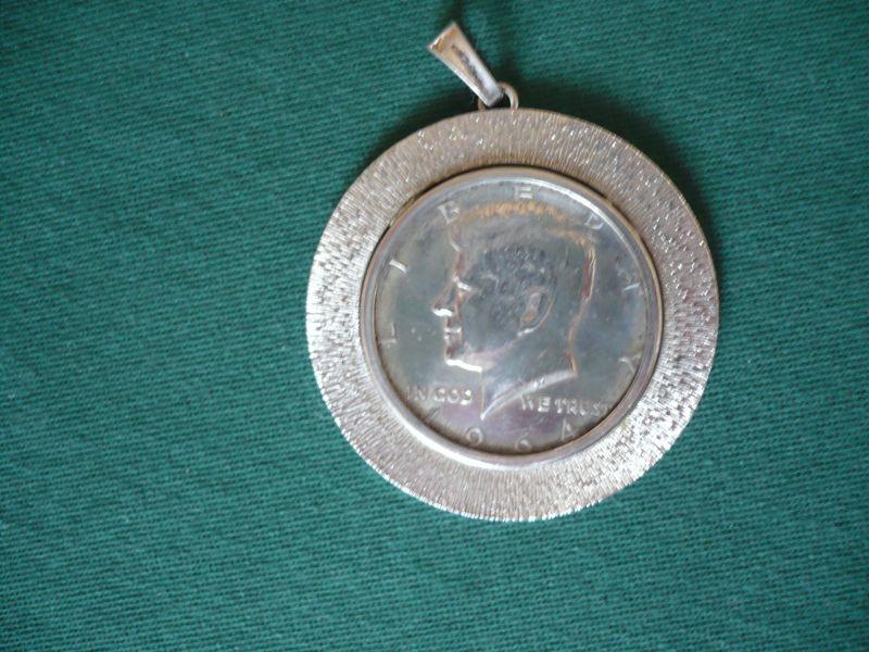 Silber-Münz-Anhänger - Half-Dollar (654) 0