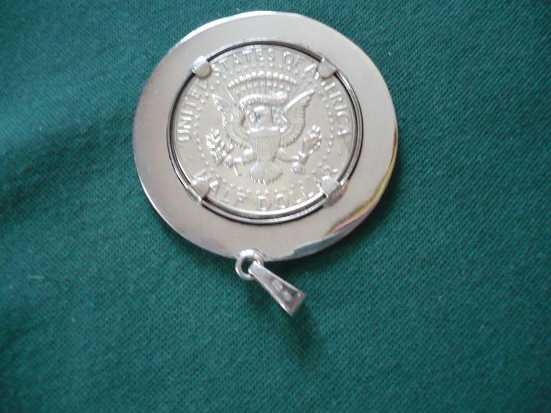 Silber-Münz-Anhänger - Half-Dollar (654) 2