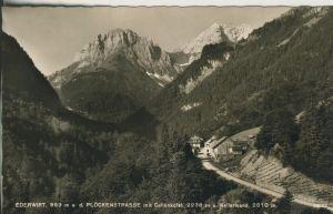 Plöcken v. 1958 Plöckenstrasse mit Gasthof \