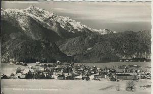 Abtenau v. 1962 Dorfansicht im Winter (AK1278)