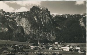 Abtenau v. 1962 Dorfansicht (AK1280)