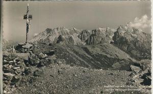 Saalbach v. 1956 Asitzkogel mit Blick auf Leoganger Steinberge (AK1283)