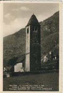 Naturns v. 1963 Prokulus Kirchlein (AK1292)