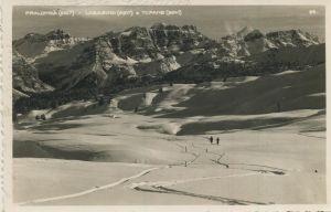 Pralongia v. 1963 Skigebiet und Berge (AK1293)