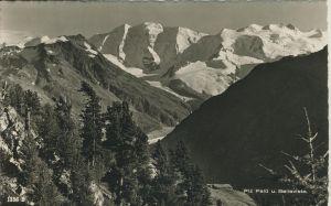 Piz Palü v. 1963 Landschaftsansicht (AK1295)