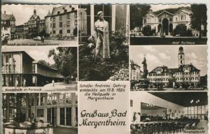 Bad Mergentheim v. 1961 7 Stadtansichten (AK1303)