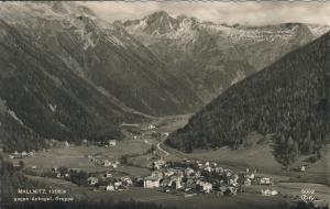Mallnitz v. 1961 Dorfansicht (AK1326)