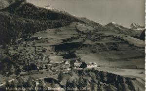 Mallnitz v. 1961 Blick ins Dösenthal mit Säuleck (AK1327)