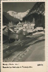 Mallnitz v. 1958 Pauemthal mit Blick gegen die Geiselspitze (AK1328)