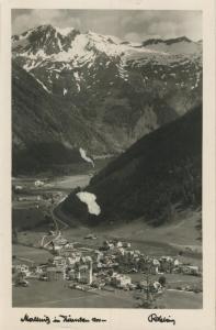 Mallnitz v. 1952 Dorfansicht im Tal (AK1329)