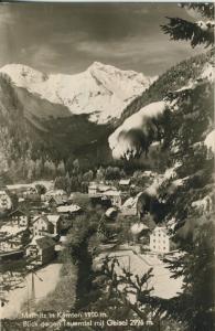 Mallnitz v. 1961 Teil-Dorfansicht im Winter (AK1331)