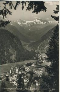 Mallnitz v. 1962 Teil-Dorfansicht im Tal (AK1332)
