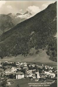 Mallnitz v. 1961 Total Dorf Ansicht im Tal (AK1333)
