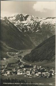 Mallnitz v. 1961 Total Dorf Ansicht im Tal (AK1334)