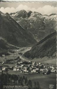 Mallnitz v. 1961 Total Dorf Ansicht im Tal (AK1336)