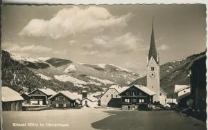 Krimml v. 1963 Dorfansicht im Winter (AK1337)