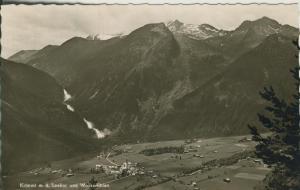 Krimml v. 1962 Dorfansicht im Tal (AK1338)