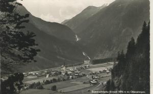 Krimml v. 1961 Dorfansicht im Tal (AK1339)