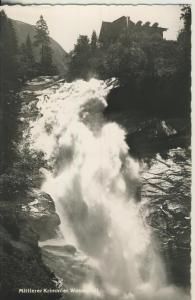 Krimml v. 1961 Zweithöchster Wasserfall der Welt (AK1342)