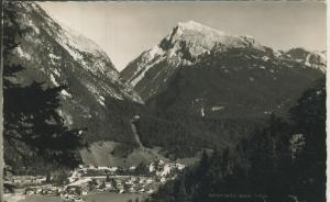 Scharnitz v. 1960 Dorfansicht (AK1349)