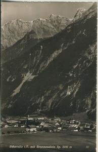 Scharnitz v. 1960 Dorfansicht im Tal (AK1350)