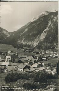 Scharnitz v. 1960 Teil-Dorf-Ansicht (AK1351)