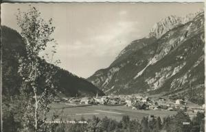 Scharnitz v. 1960 Dorf-Ansicht (AK1352)