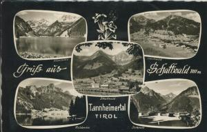 Gruß aus Schattwald v. 1960 5 Ansichten (AK1355)