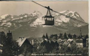 Bregenz v. 1959 Teil- Dorfansicht mit Pfänderbahn (AK1361)