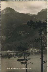 Hotel Achenseehof- Achensee - Tirol v. 1954 (AK1363)