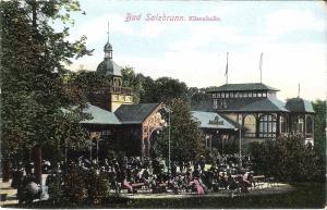 Bad Salzbrunn - Elisenhalle von 1919 (010AK