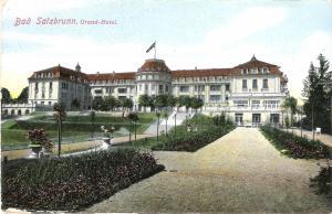 Bad Salzbrunn - Grand Hotel von 1919 (012AK)