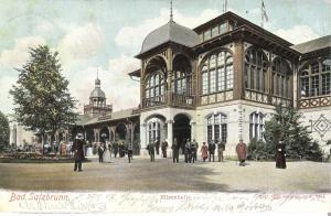Bad Salzbrunn - Elisenhalle von 1904 (013AK)
