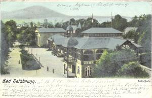Bad Salzbrunn - Elisenhalle von 1905 (014AK)