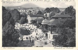 Bad Salzbrunn - Elisenhalle mit Hochwald von 1931 (018AK)