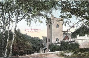 Bad Salzbrunn - Wilhelmshöhe von 1919 (019AK)